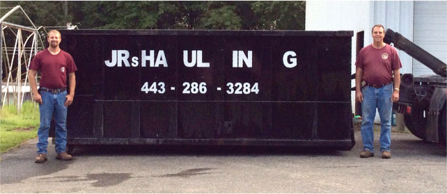Bel Air MD Dumpster rental, Baltimore County Dumpster Rentals