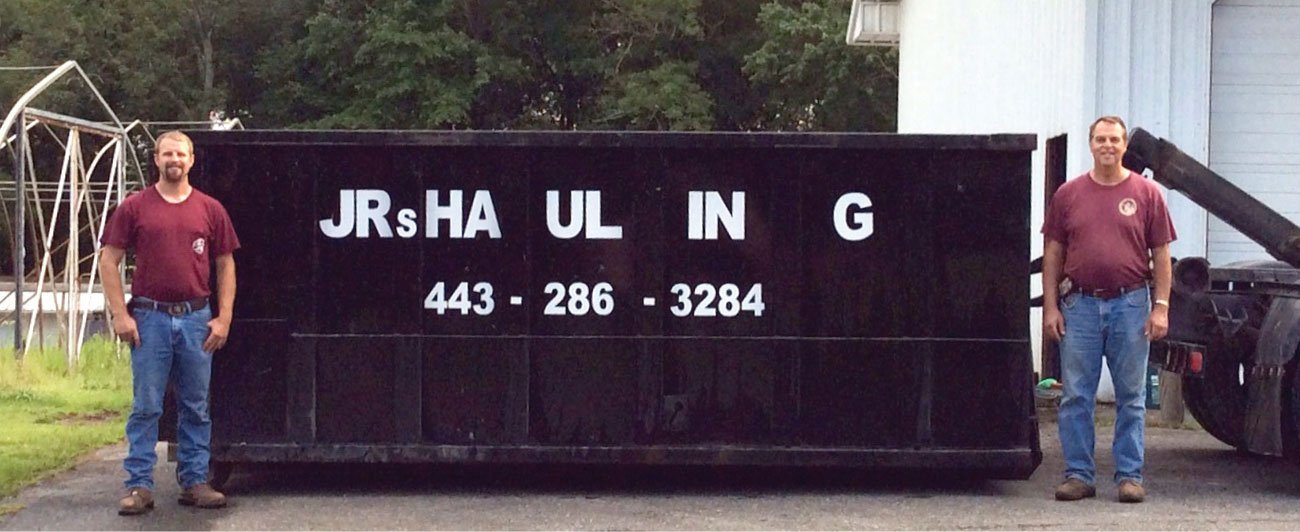 Baltimore County Dumpster Rental, Harford County Junk Removal